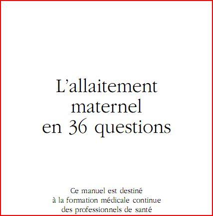 L'allaitement maternel en 36 questions Erz10
