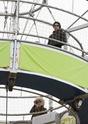 Familia Jolie Pitt passeiam de balão. 0715