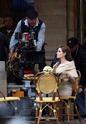 """Angelina aparece deslumbrante no primeiro dia de filmagem de """"O turista"""" _01410"""