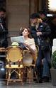 """Angelina aparece deslumbrante no primeiro dia de filmagem de """"O turista"""" _02010"""