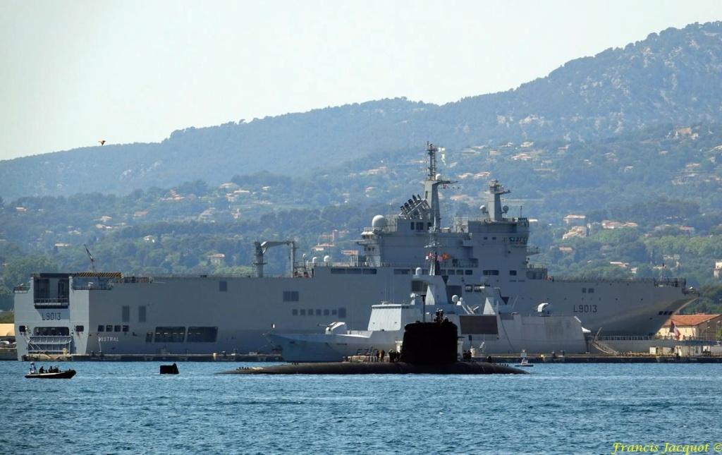 [LES PORTS MILITAIRES DE MÉTROPOLE] Mouvements de Bâtiments dans la rade de Toulon - Page 19 0724