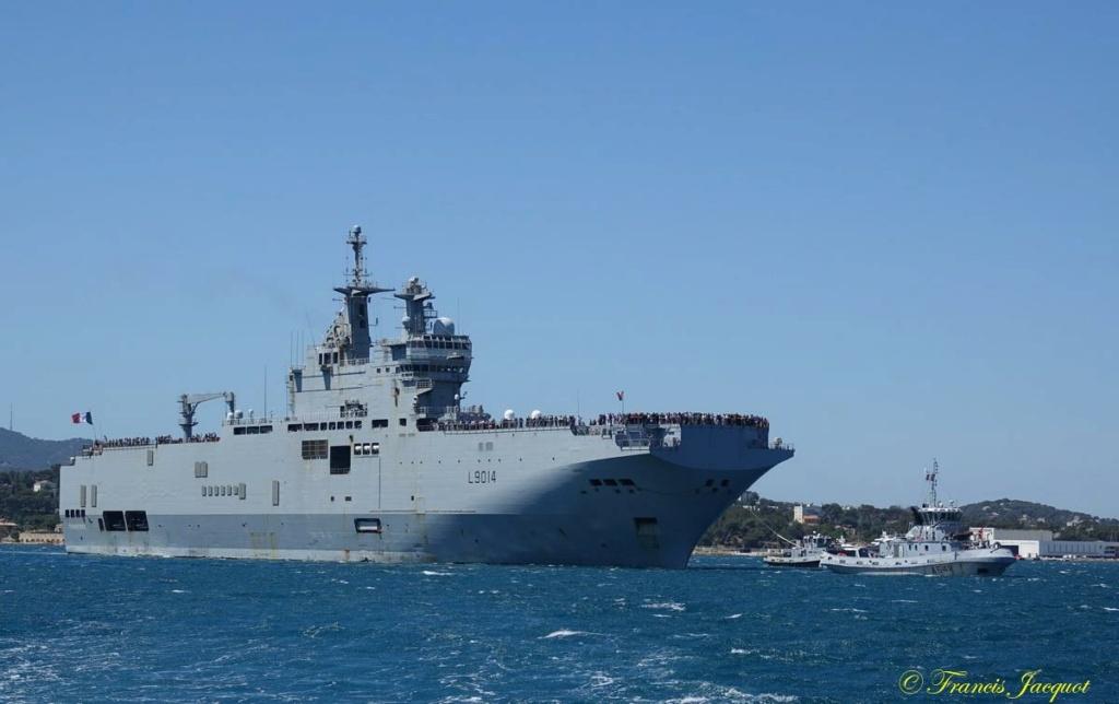 [Les ports militaires de métropole] 12° mission JEANNE D'ARC - Page 2 11211