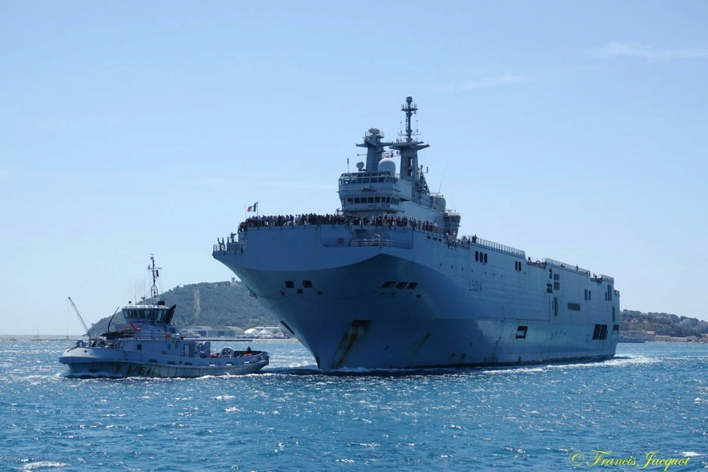 [Les ports militaires de métropole] 12° mission JEANNE D'ARC - Page 2 13186