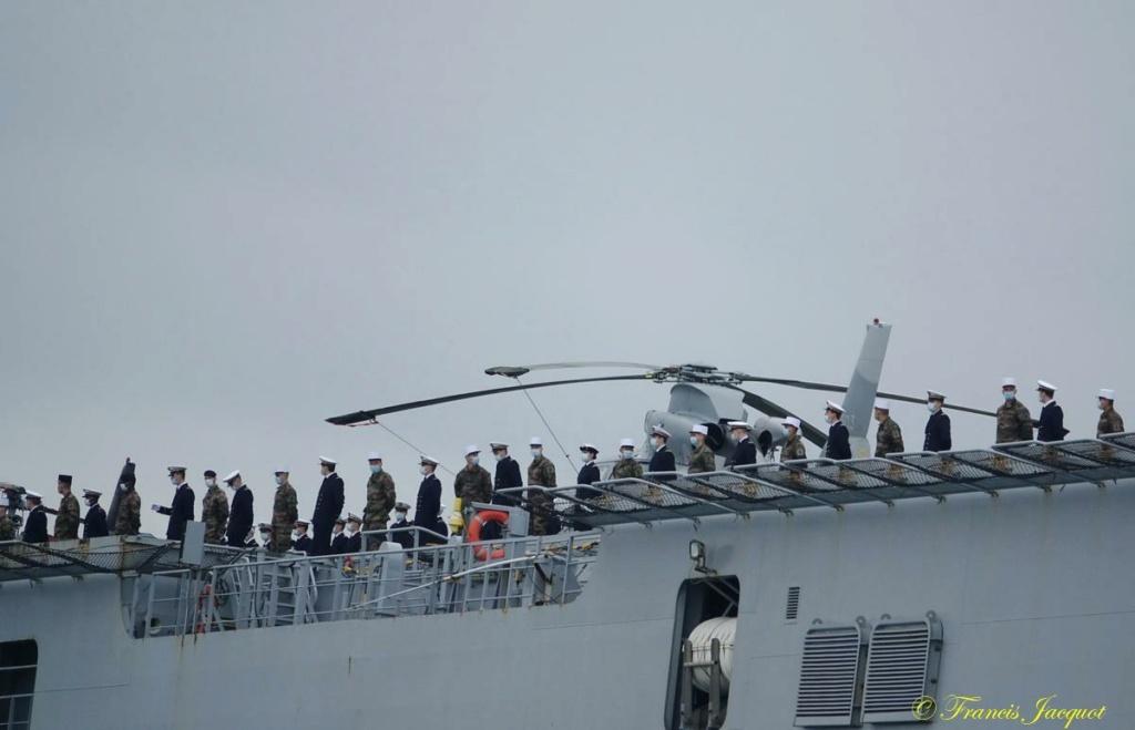 [ LES PORTS MILITAIRES DE MÉTROPOLE - TOULON ] 12° mission JEANNE D'ARC 20138