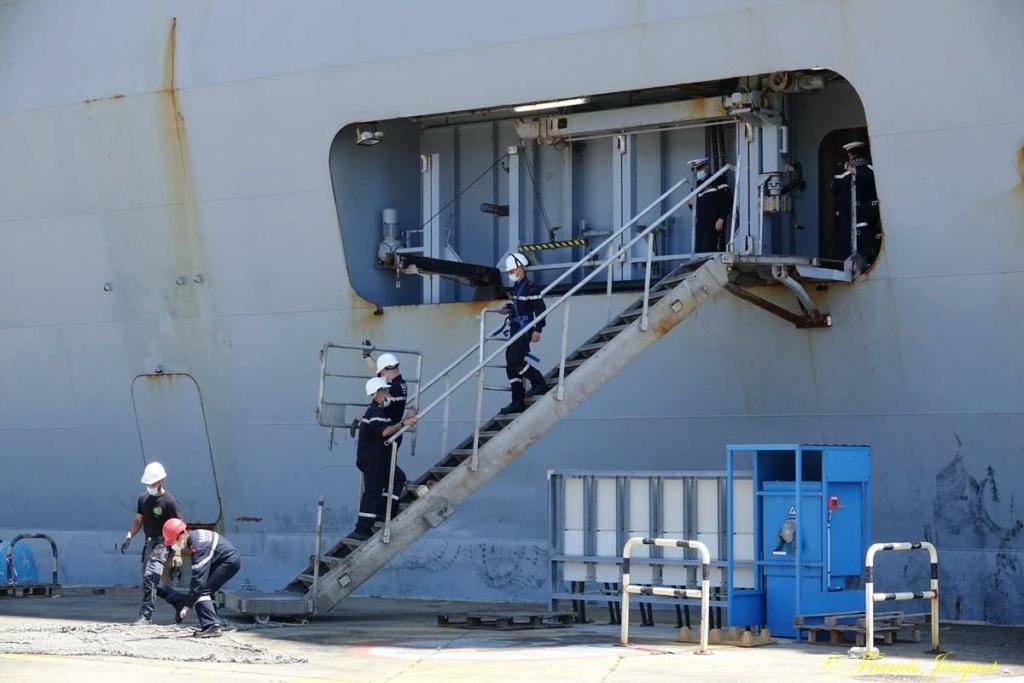[Les ports militaires de métropole] 12° mission JEANNE D'ARC - Page 2 28110
