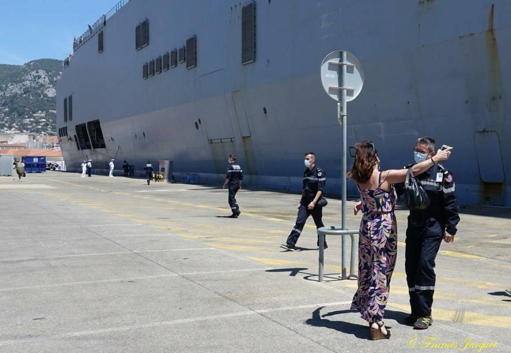 [Les ports militaires de métropole] 12° mission JEANNE D'ARC - Page 2 3294