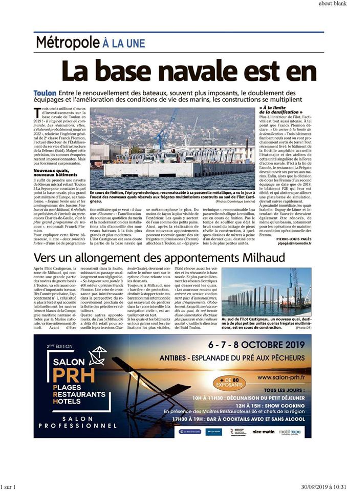 [LES PORTS MILITAIRES DE MÉTROPOLE] Mouvements de Bâtiments dans la rade de Toulon - Page 26 71225310