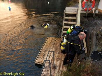 Vivian - Sunshine diving!! Dscf8327
