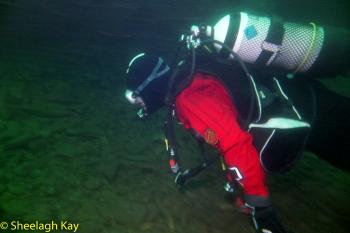 Vivian - Sunshine diving!! Dscf9213