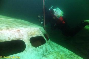 Vivian - Sunshine diving!! Dscf9214