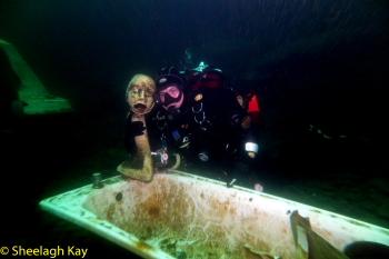 Vivian - Sunshine diving!! Dscf9217