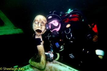Vivian - Sunshine diving!! Dscf9218