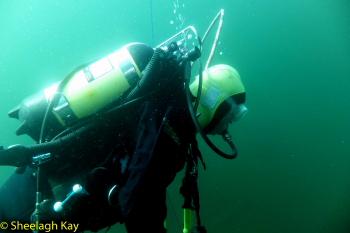 Vivian - Sunshine diving!! Dscf9311