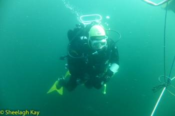 Vivian - Sunshine diving!! Dscf9316