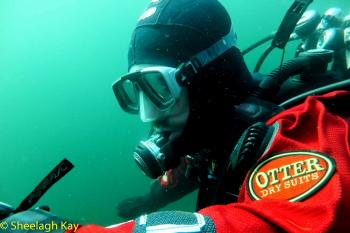 Vivian - Sunshine diving!! Dscf9317