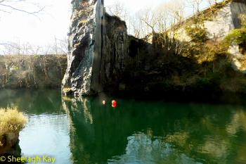 Vivian - Sunshine diving!! Dscf9320