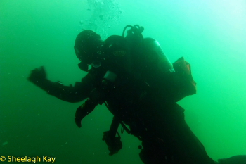 Vivian - Sunshine diving!! Dscf9411