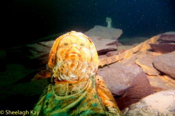 Vivian - Sunshine diving!! Dscf9419