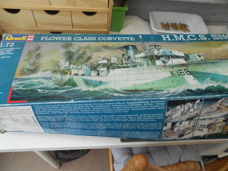 flower Class corvette h.m.c.s Snowberry 1/72 Bateau11