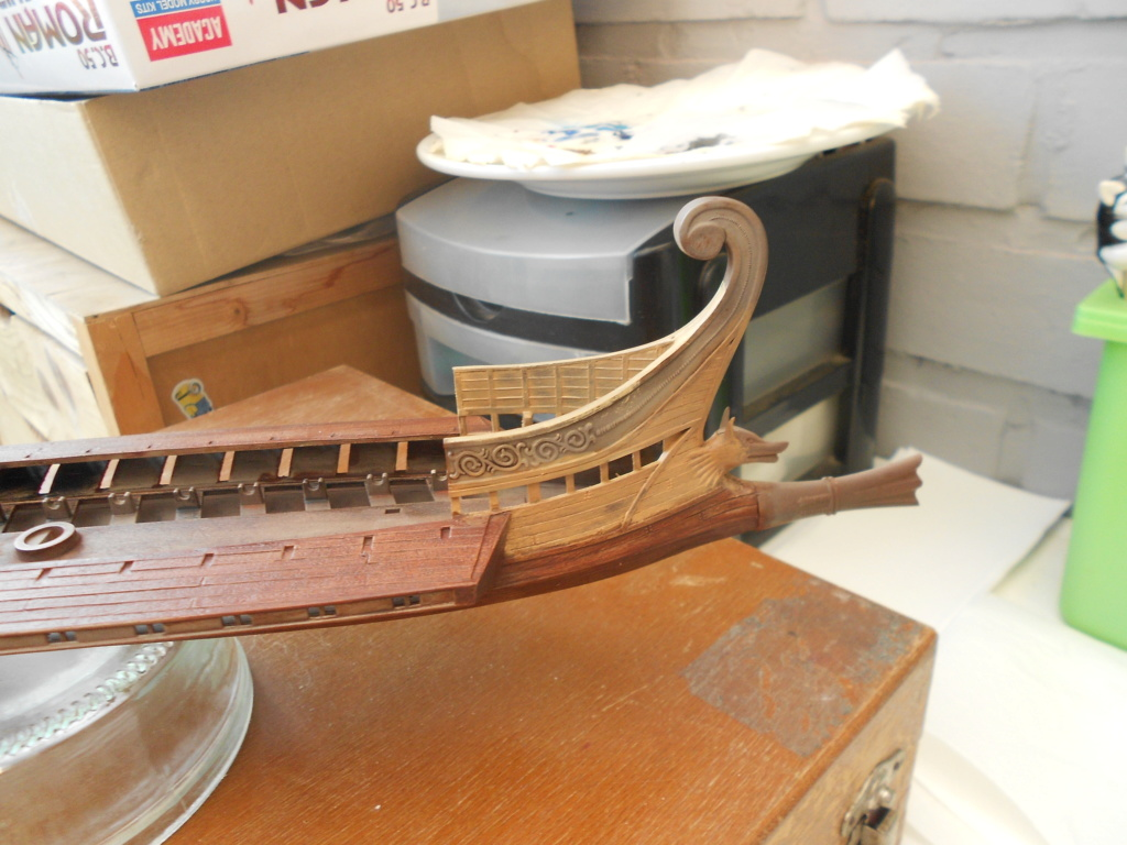 Roman Warship 1/72 Academy Bireme18