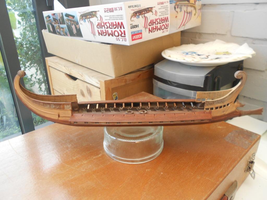 Roman Warship 1/72 Academy Bireme19
