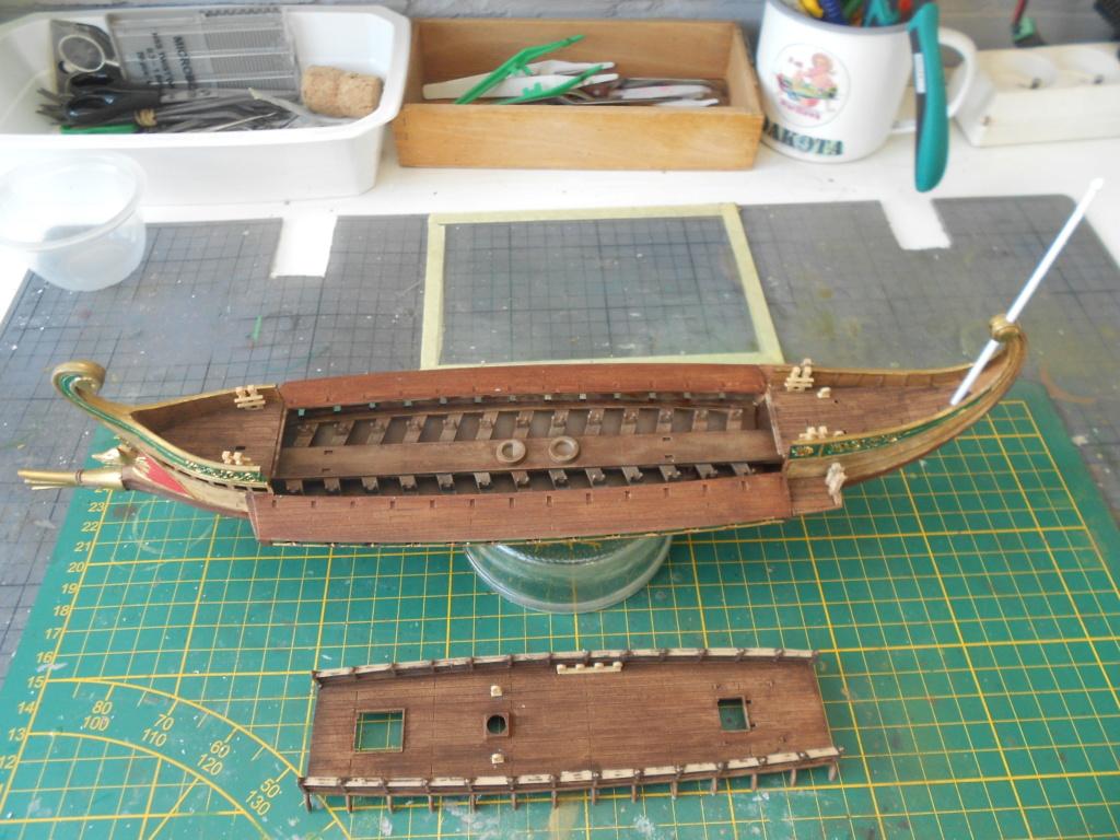 roman warship au 1/72 academy  Bireme25