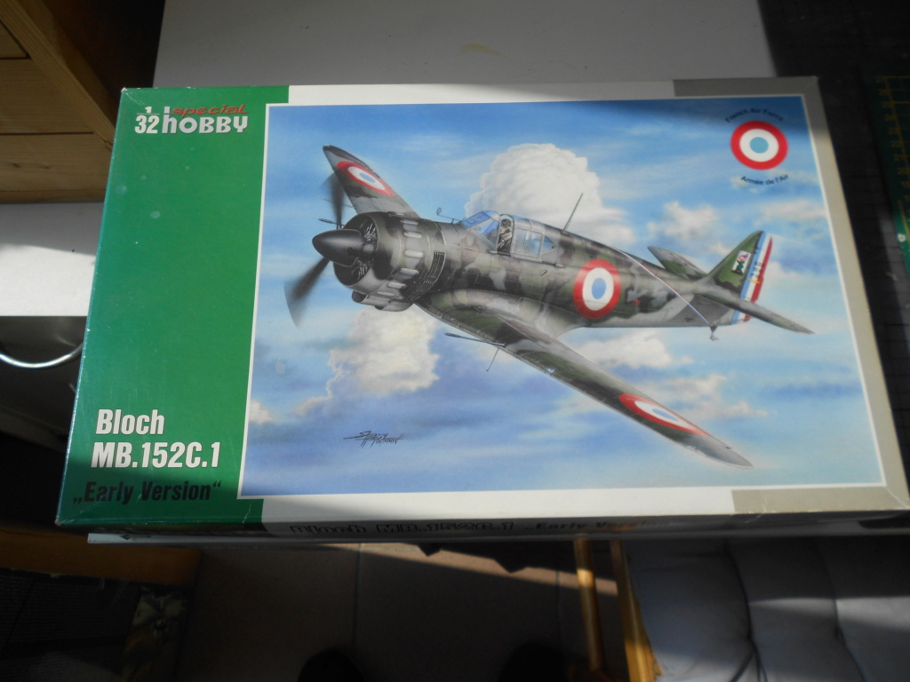 bloch mb 152c1 Early version 1/32 special hobby Blochd11