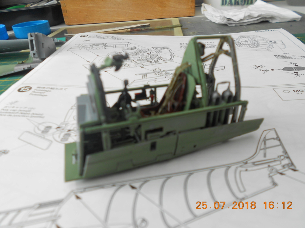 Supermarine Spitfire MK VIII 1/32 Tamiya  Bureau22