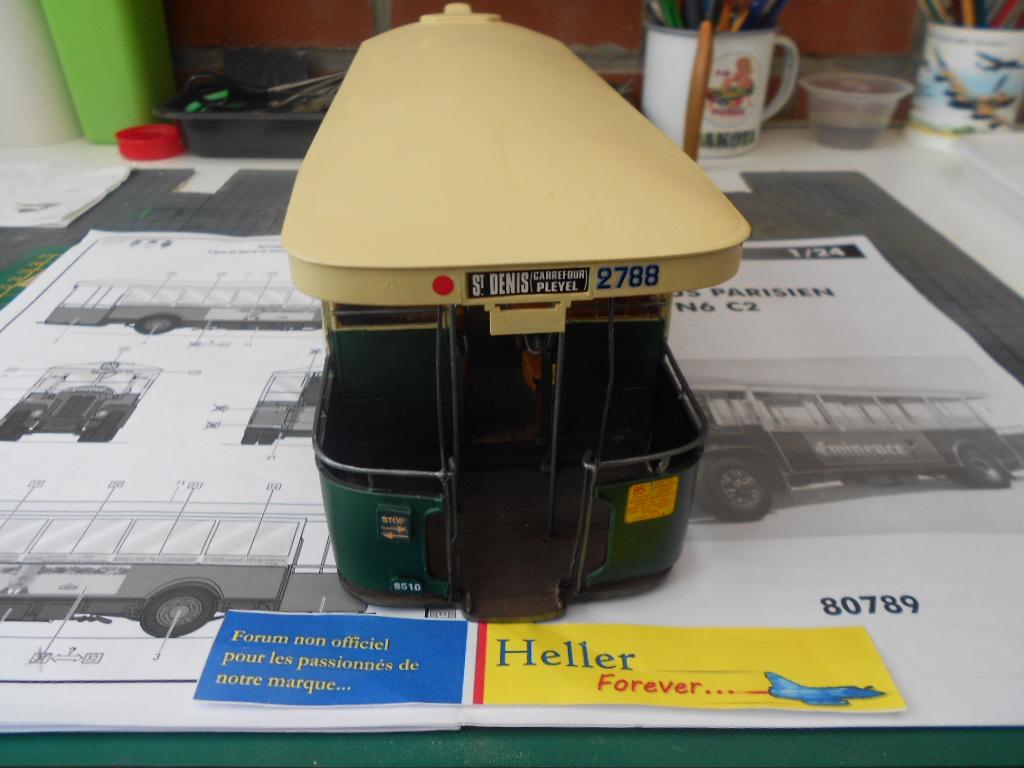 Autobus parisien TN6 C2 1/24 Heller  - Page 3 Bus_dy15