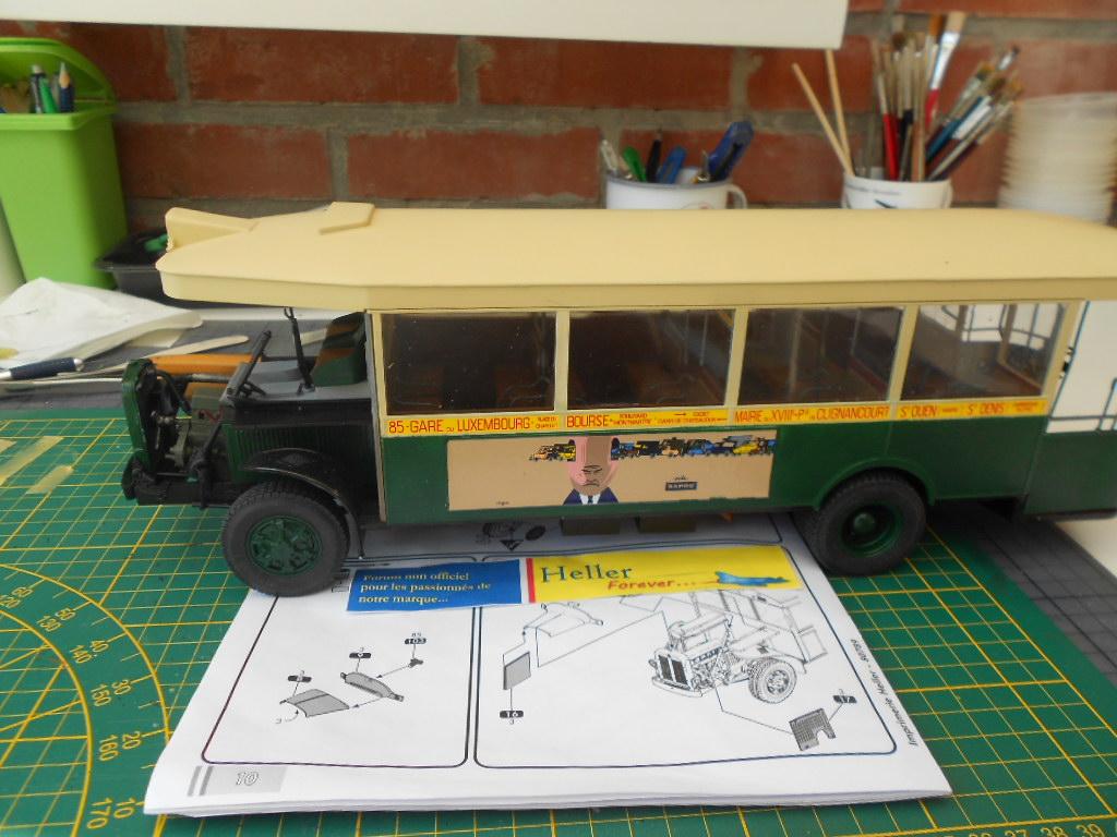 autobus parisien tn6 c2 1/24 heller  - Page 2 Caland32