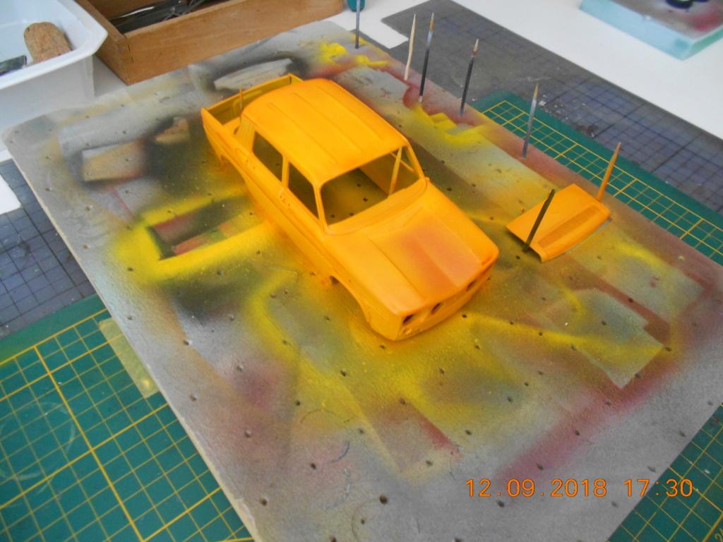 Renault R8 Gordini Heller au 1/24 Carro_12
