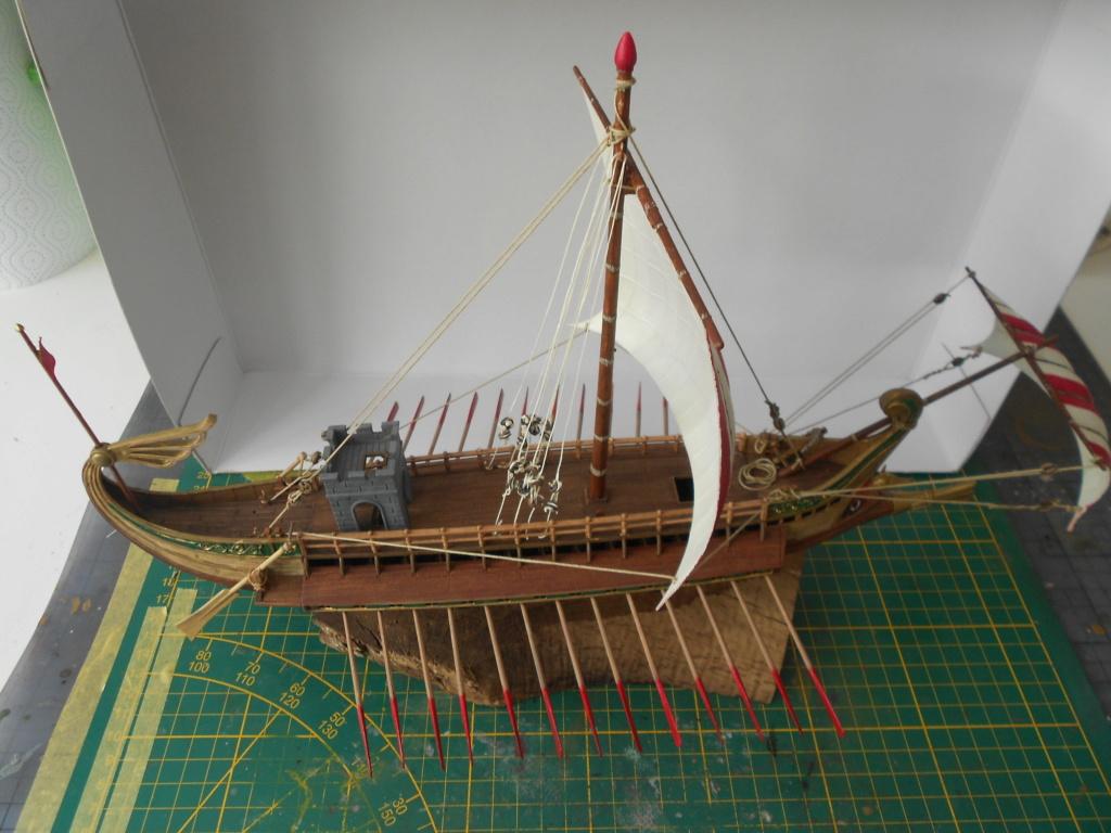 Roman Warship 1/72 Academy - Page 4 Cordag25