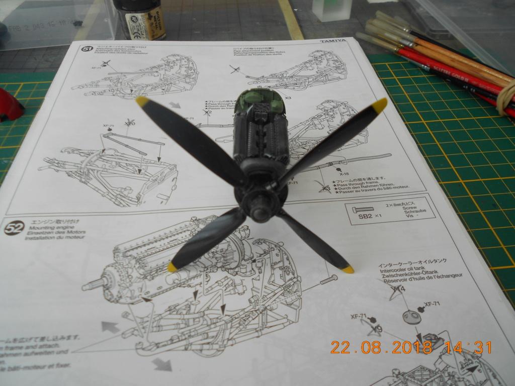 [TAMIYA] SUPERMARINE SPITFIRE Mk VIII 1/32ème Réf 60320 - Page 2 Dscn0202