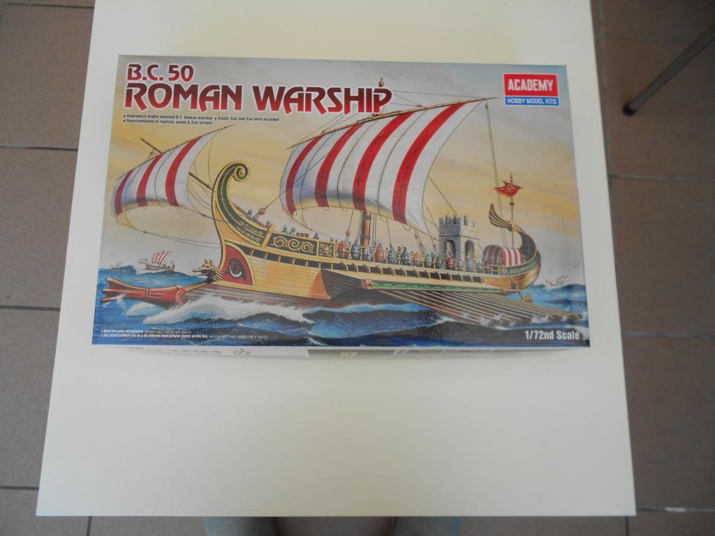 Roman Warship 1/72 Academy Dscn0257