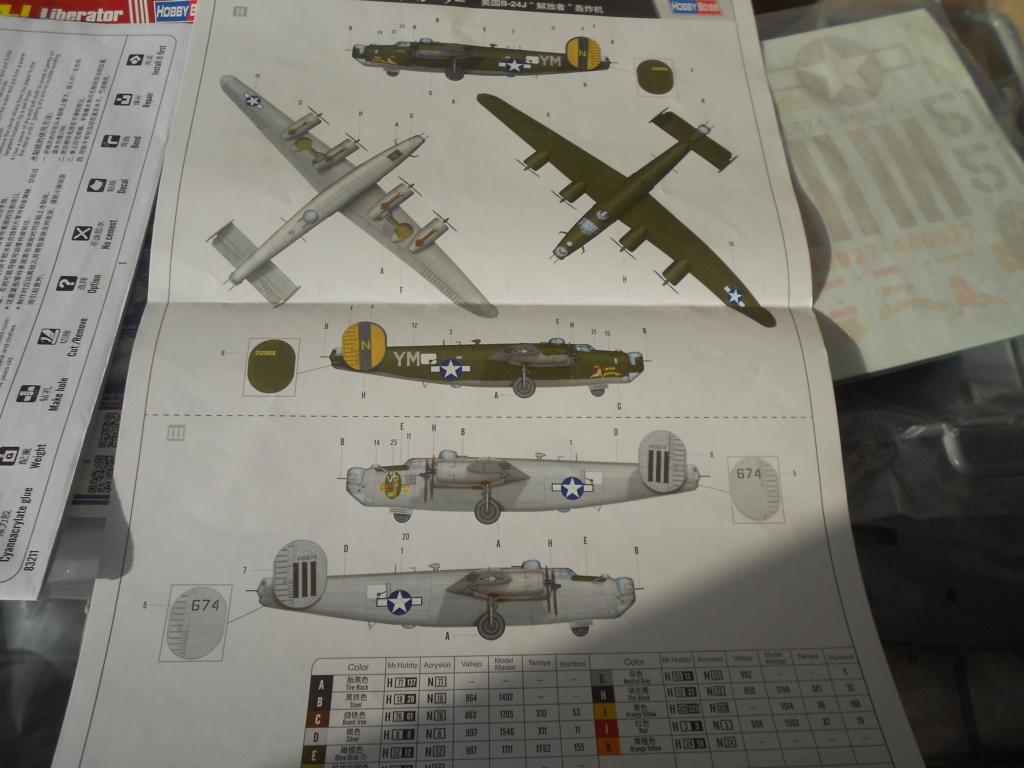 b-24j liberator au 1/32 hobby boss Dscn1086