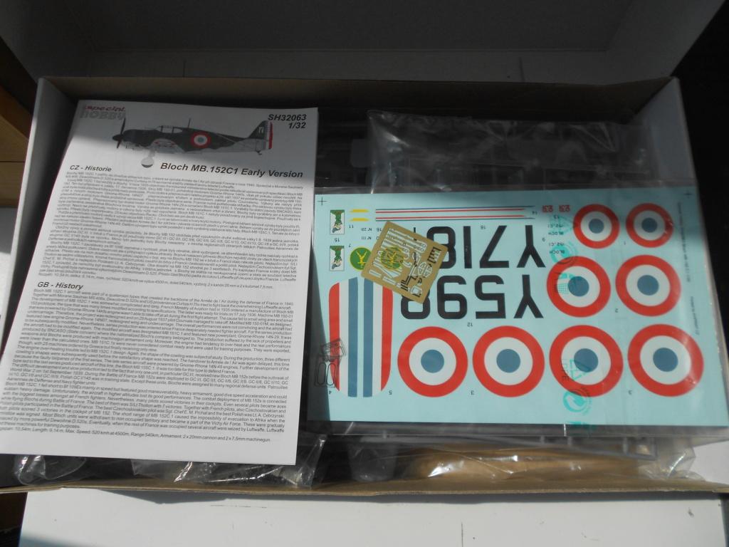 [SPECIAL HOBBY] BLOCH MB 152 C1 Early version 1/32ème Réf SH32063 Dscn1359