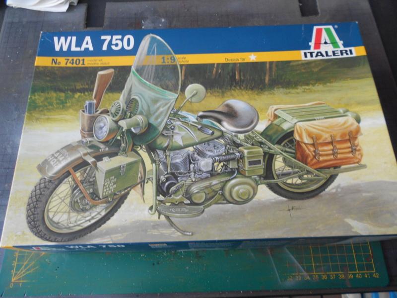 wla 750 1/9 italeri Harley Davidson   Dscn2164
