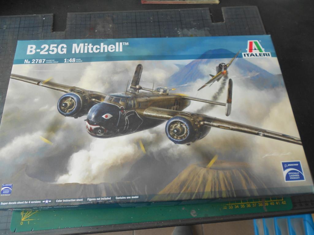 b 25 G Mitchell au 1/48 italeri Dscn2559