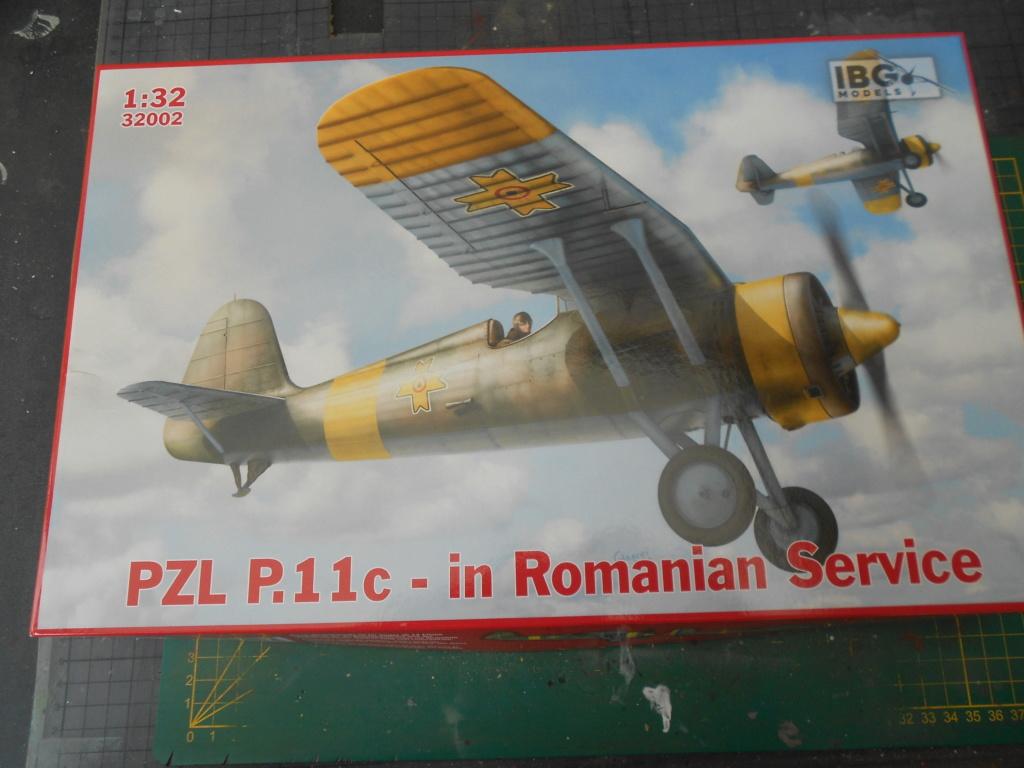 pzl p.11 c fighterin romanian  1/32 ibg modéle  Dscn3195