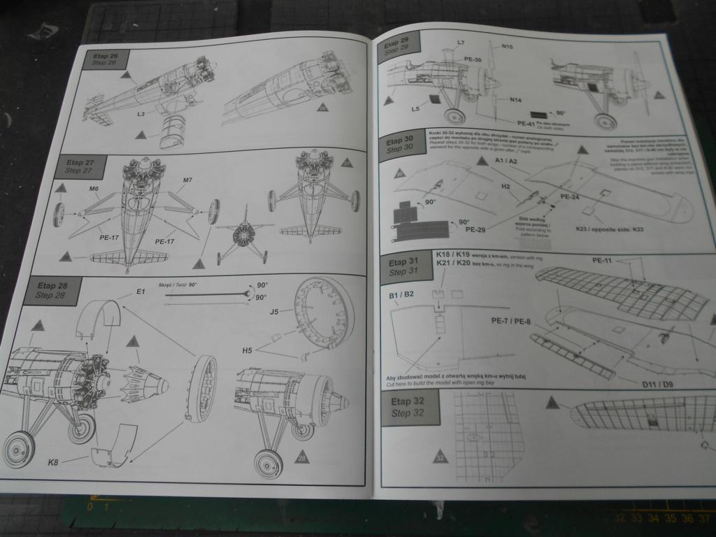 pzl p.11 c fighterin romanian  1/32 ibg modéle  Dscn3200