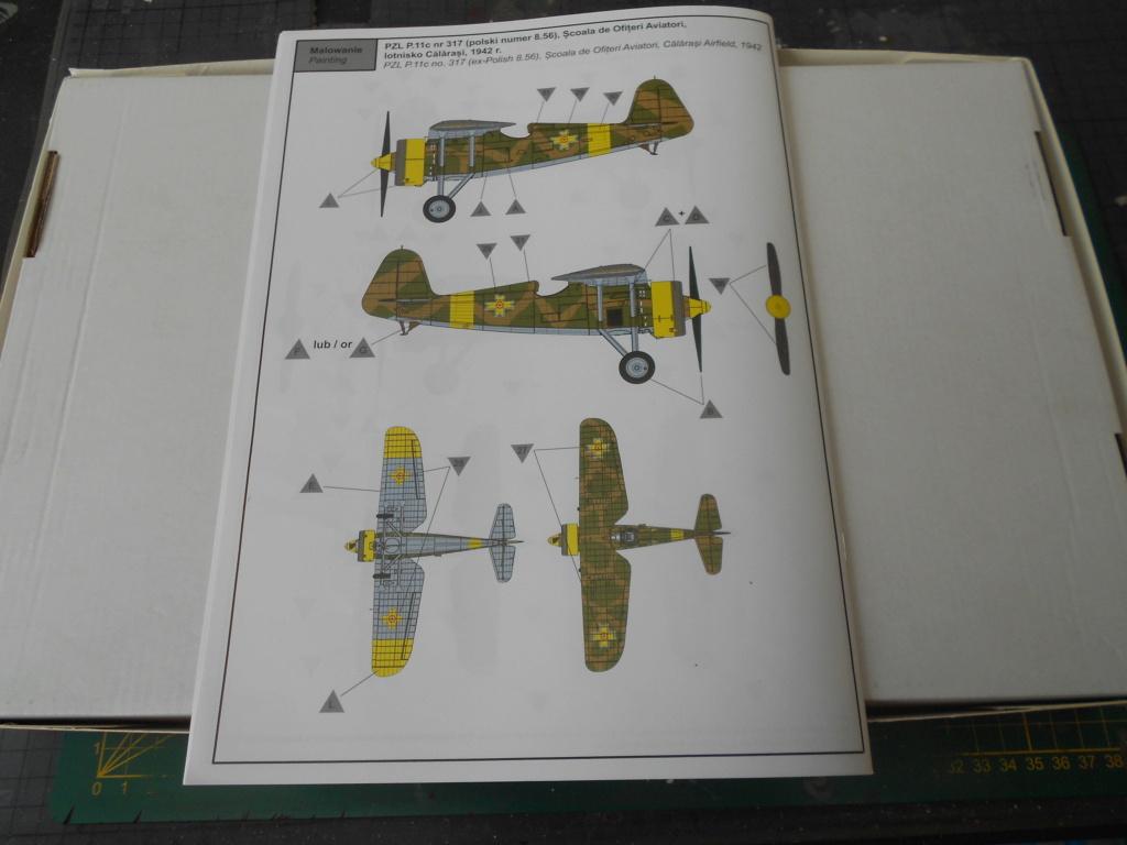 pzl p.11 c fighterin romanian  1/32 ibg modéle  Dscn3203