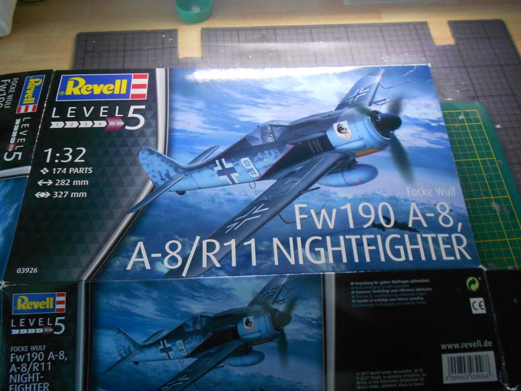 revell 1/32 focke wulf 190 a-8 nightfighter  Dscn3688