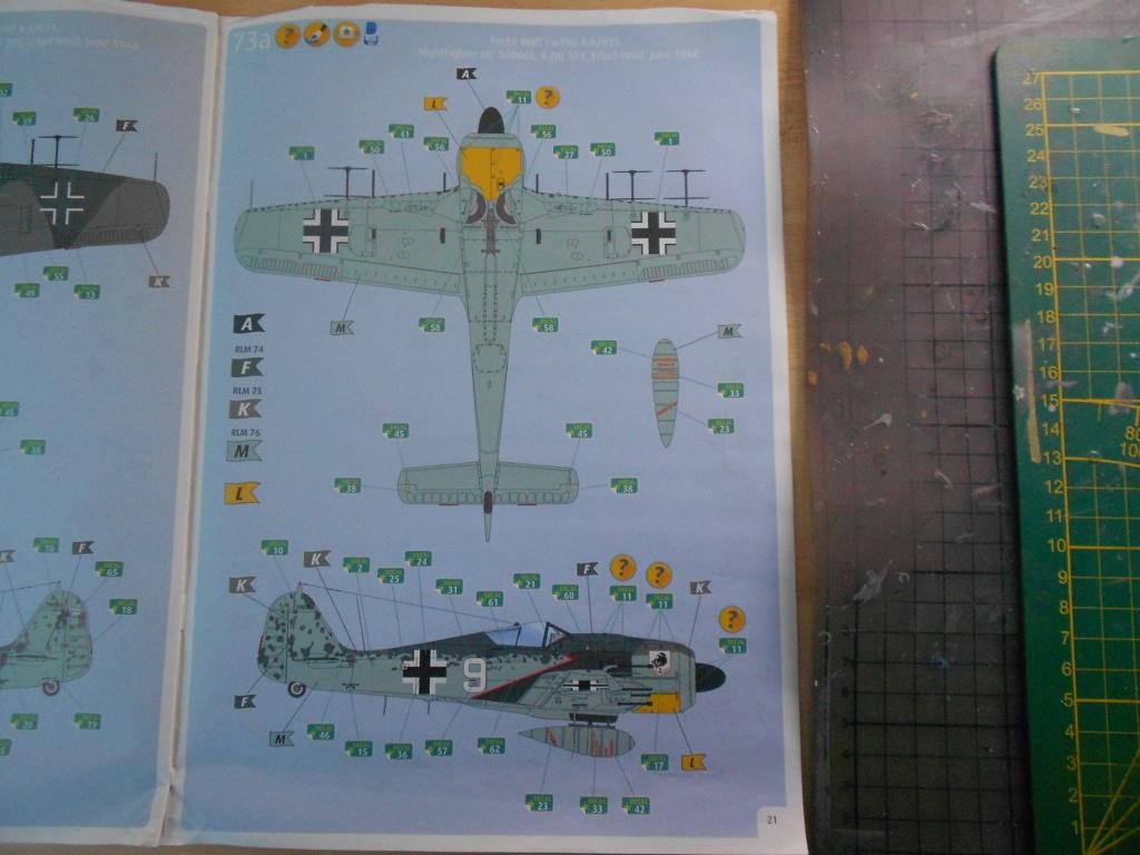 revell 1/32 focke wulf 190 a-8 nightfighter  Dscn3691