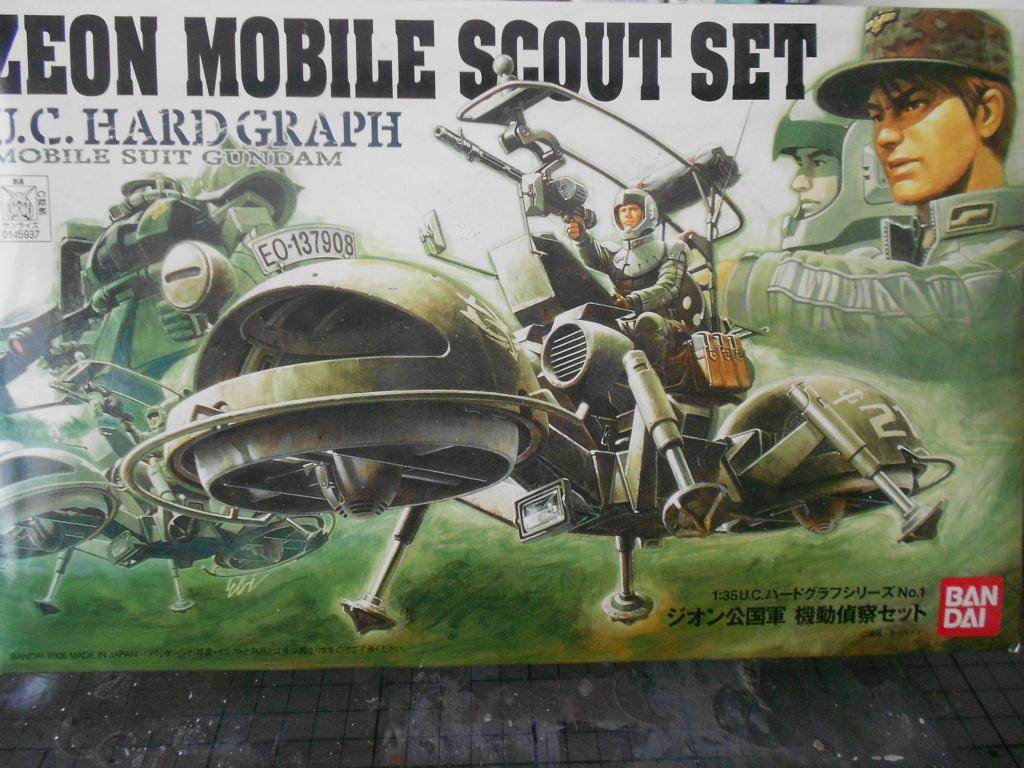 zeon mobile scout set Ban Dai 1/35  Dscn3969