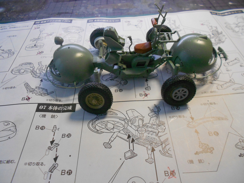zeon mobile scout set Ban Dai 1/35  Dscn3977