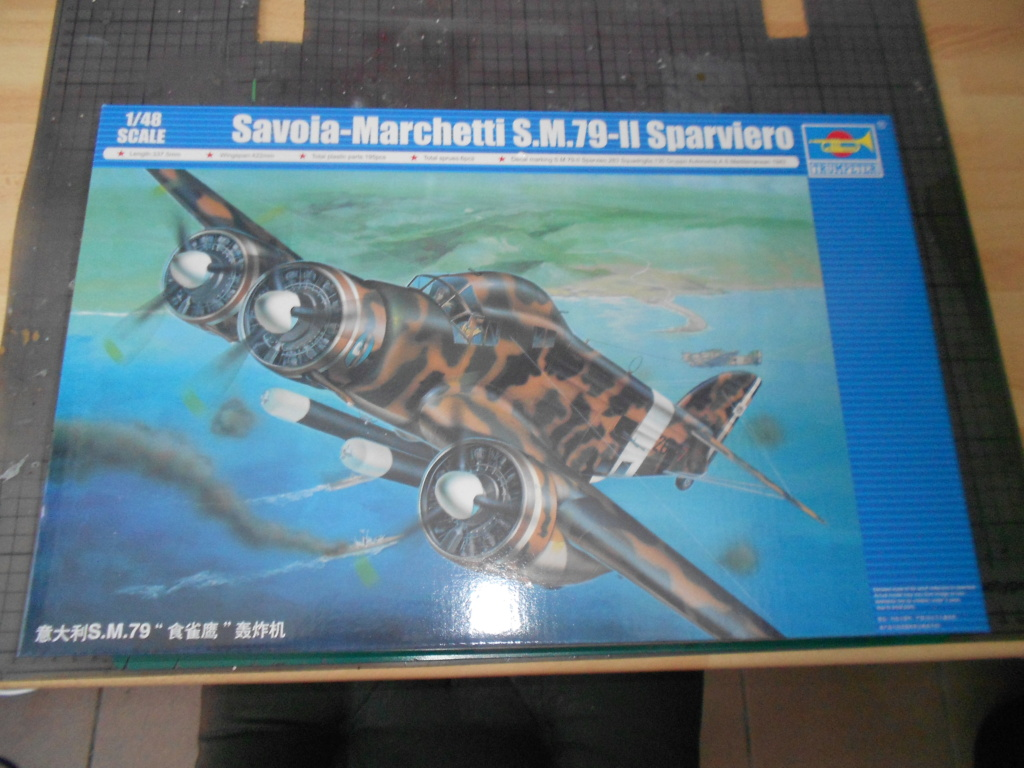 savoia-marchetti sm-79-2 sparviero trumpeter 1/48 Dscn4071