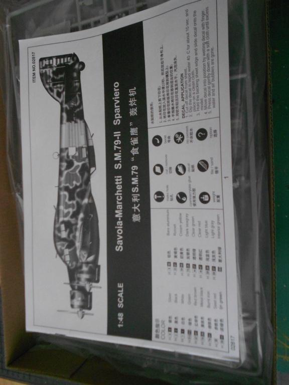 savoia-marchetti sm-79-2 sparviero trumpeter 1/48 Dscn4073