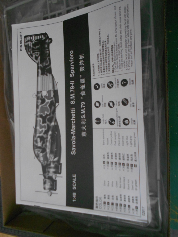 Savoia-Marchetti SM-79-2 Sparviero - Trumpeter 1/48 Dscn4093