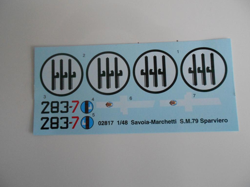 savoia-marchetti sm-79-2 sparviero trumpeter 1/48 Dscn4098