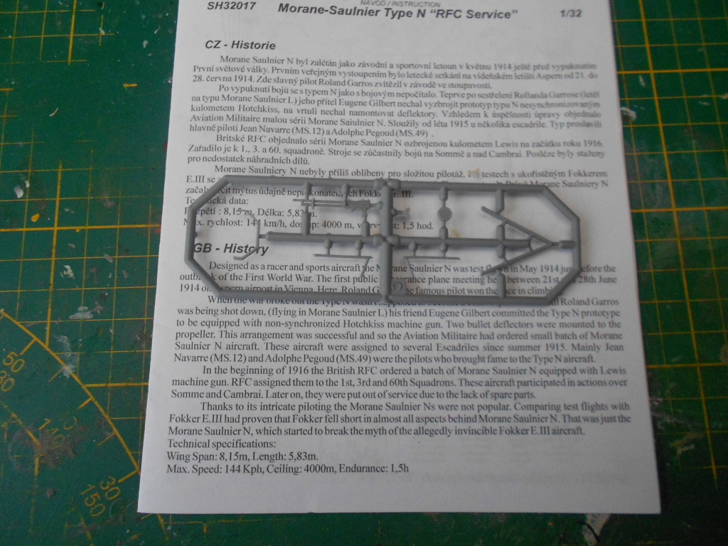 morane-saulnier type n 1/32 special hobby  Dscn4785